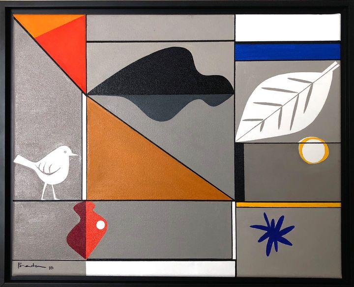 Bird and Leaf - Aurelio Posada