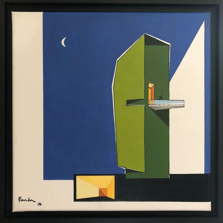 The Green Tower - Aurelio Posada