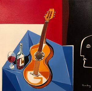 Guitar and Rioja