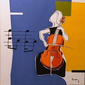 My Cellist - SOLD