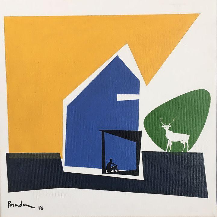 Architecture Dream # 5  - SOLD - Aurelio Posada