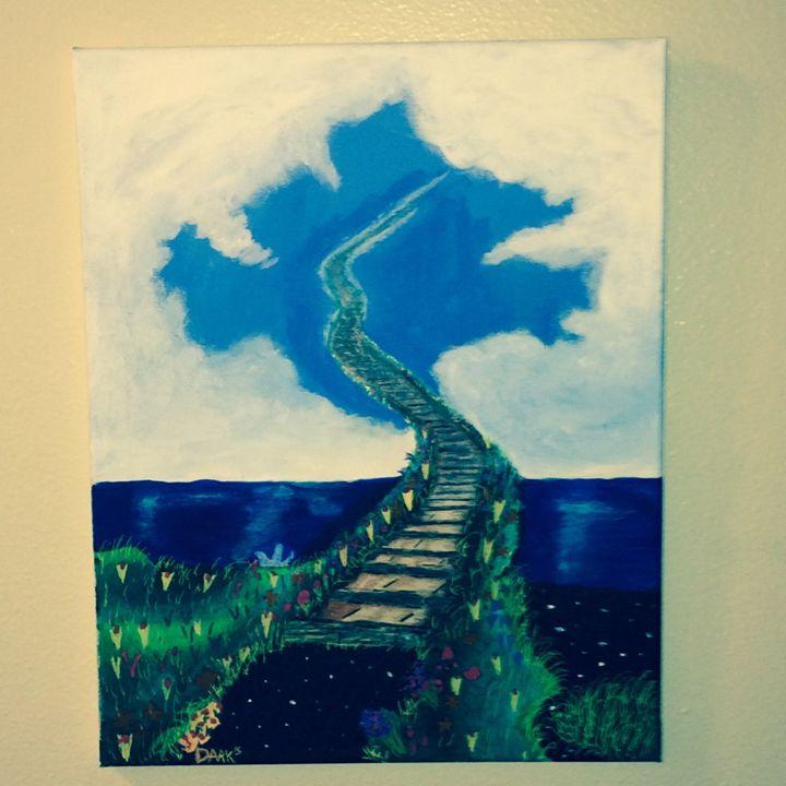 Stairway to Heaven - Darkly Paint