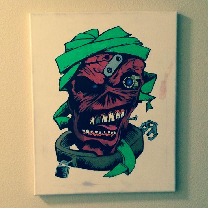 Eddie - Darkly Paint