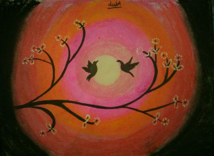 Love Birds - Art by heArt