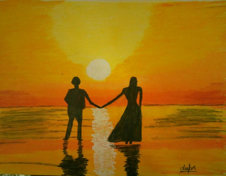 The True Lovers - Art by heArt