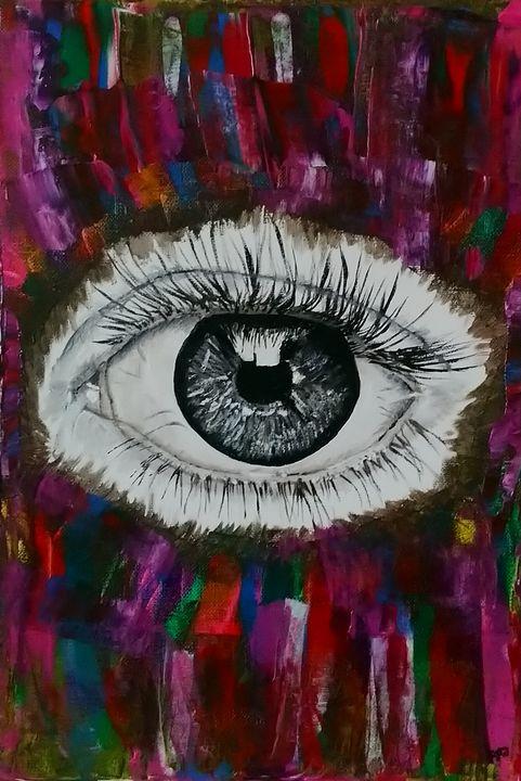 A window to the soul - Fiona Dangerfield