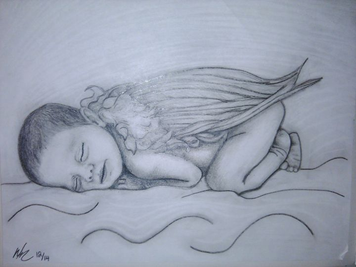 AngelBaby - portrait sketches