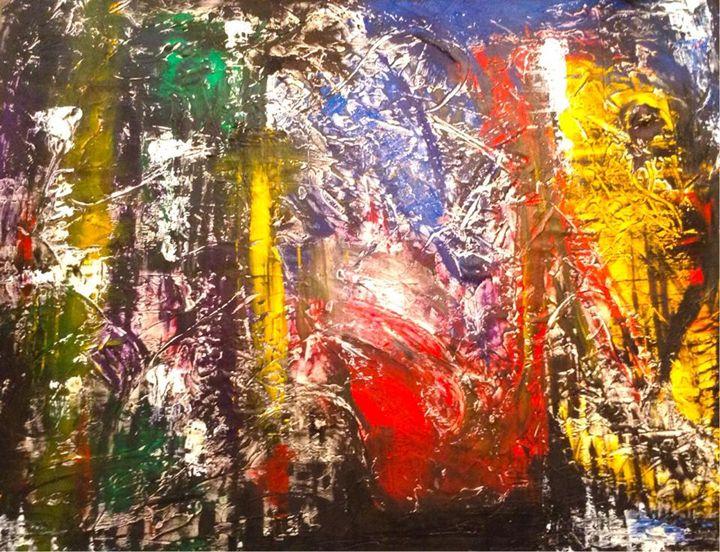 City Euphoira - Mark Rivers Art Gallery