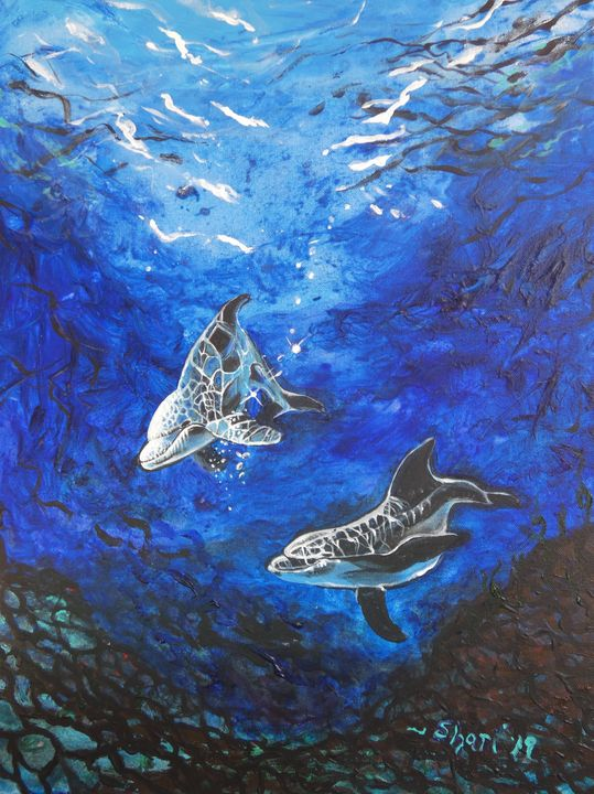 Energy Dolphins - Shari Riepe