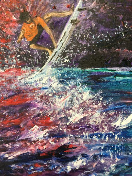 Bloody Surfer - Shari Riepe