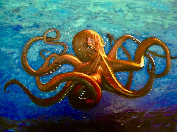 Lively Octopus - Shari Riepe
