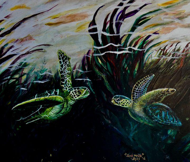 Turtle Friends - Shari Riepe