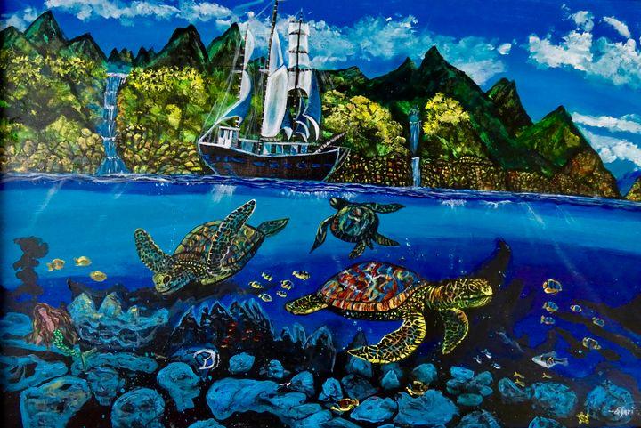 Turtle Island - Shari Riepe