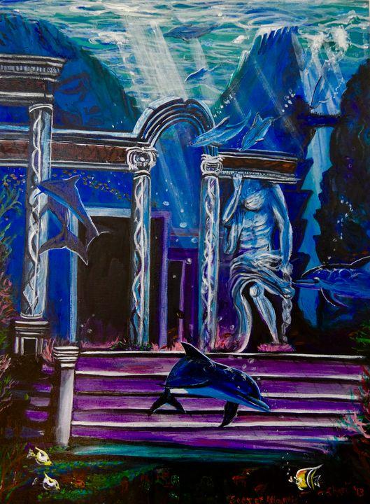 Atlantis Dolphins - Shari Riepe