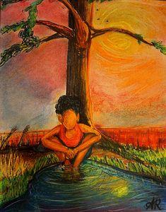 Her Meditation