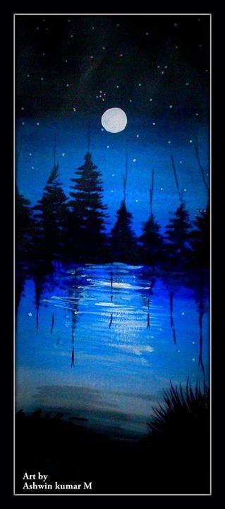 Blue night - ASHWIN KUMAR