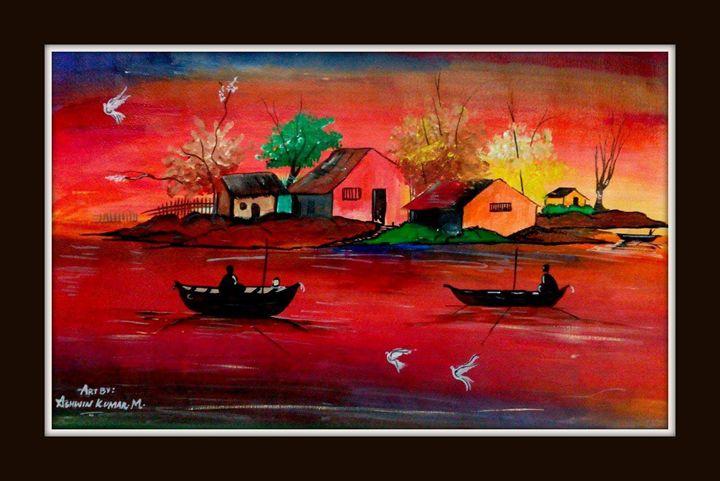 Back to home from work - ASHWIN KUMAR
