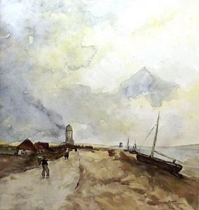 Dutch Fishing Village