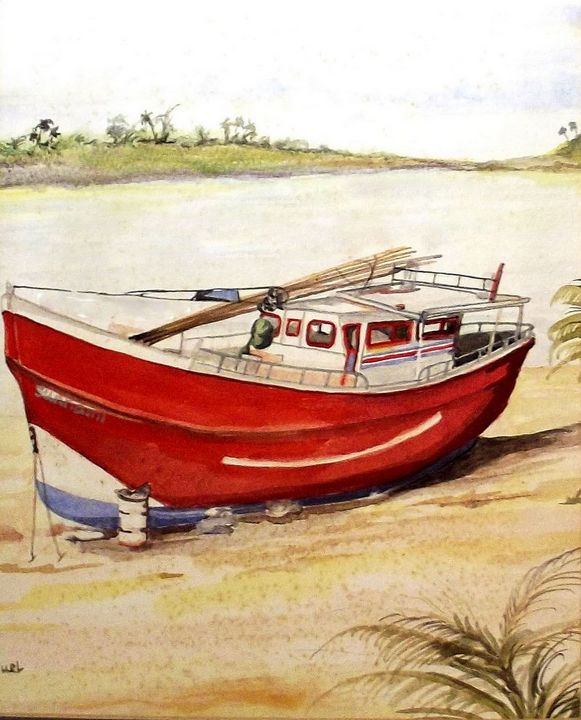 The Fishing Boat - Artscapes