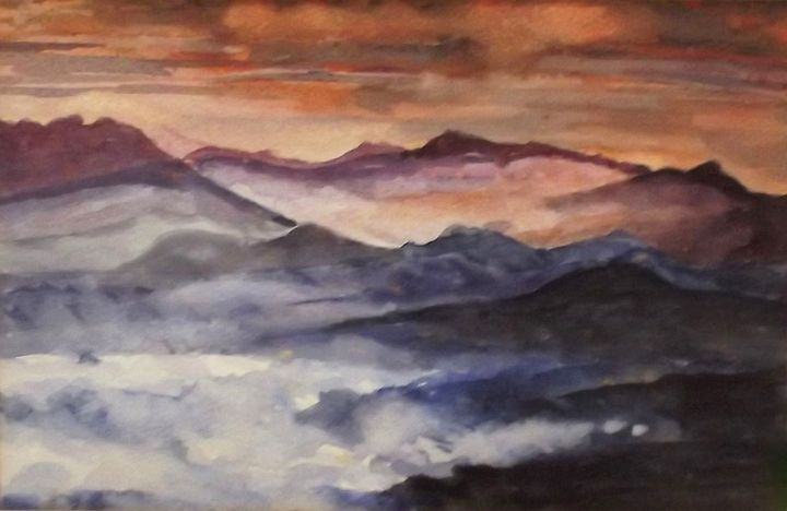 Misty Mountains - Artscapes