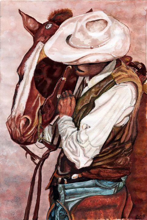 A Cowboys Friend - Artscapes