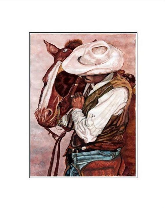 """A Cowboys Friend"" - Artscapes"