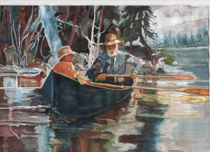 """""""Canoeing on the River"""""""