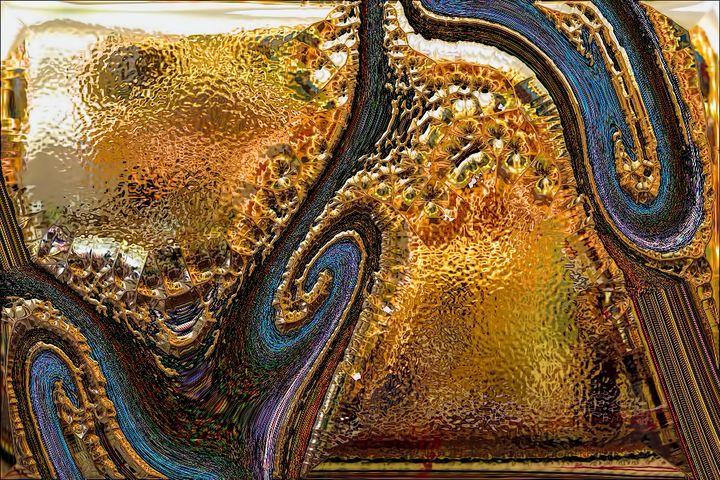 Abstract Gold - CreARTive