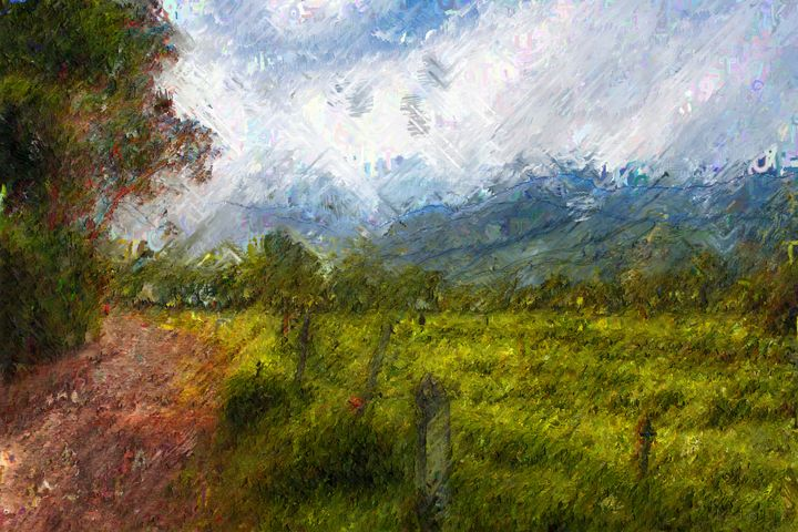 Countryside landscape - CreARTive