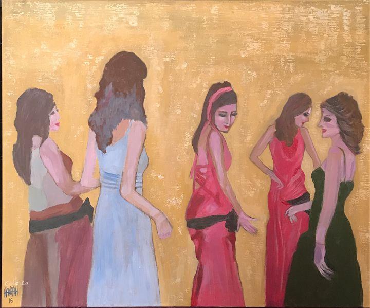 Dancers - hanaa hijazi