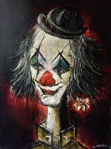 Clown 48x61cm