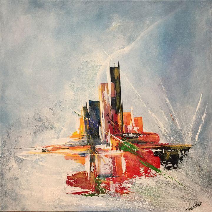 Abstract  SOLD - Christiane Sandler