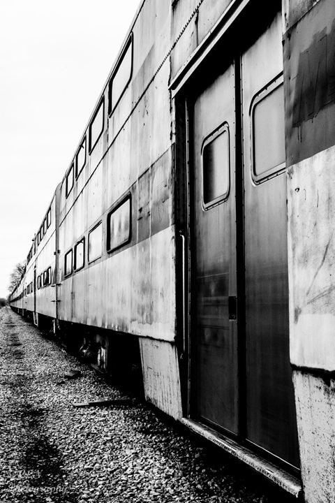 Abandoned Train Horicon 2 - C. Nowak