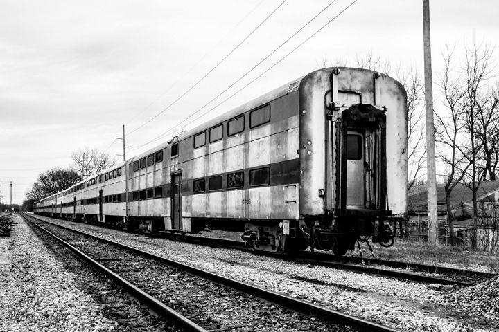 Abandoned Train Horicon 1 - C. Nowak