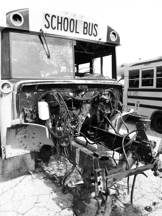 School Bus Graveyard 1 - C. Nowak