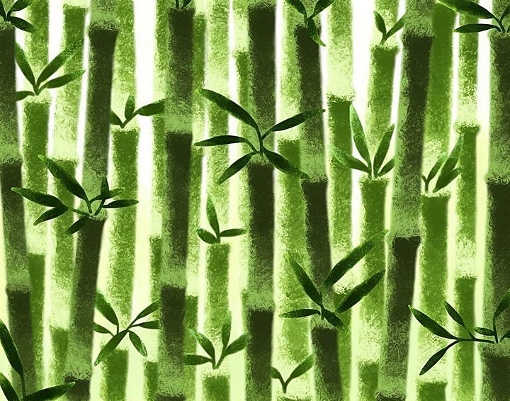 Bamboo (original) - Shy Blueberry