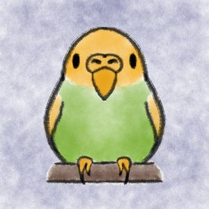 Pets - Bird - Shy Blueberry