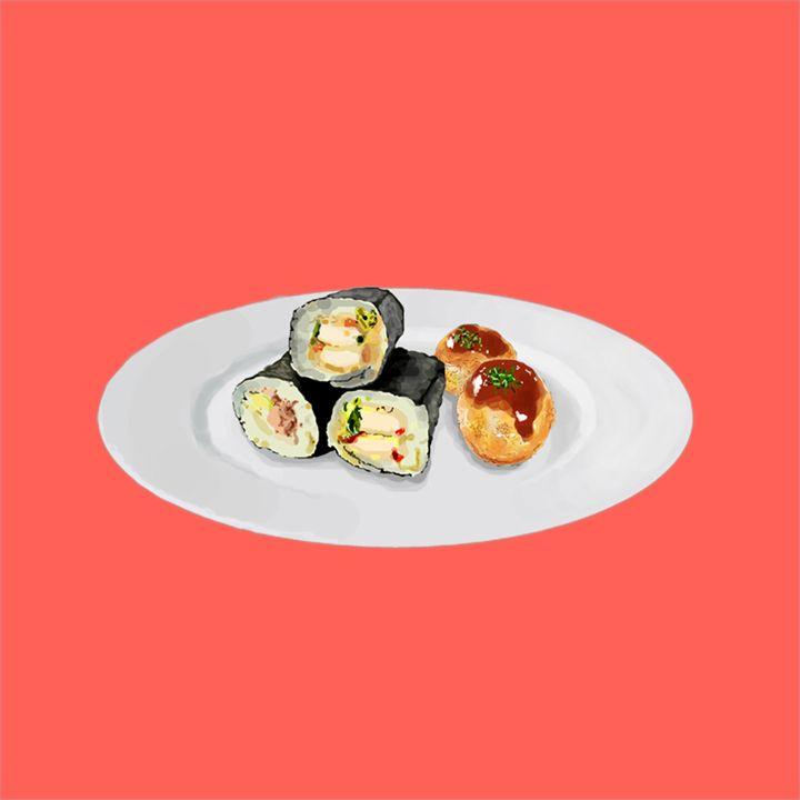 Sushi and Takoyaki - VEANJ