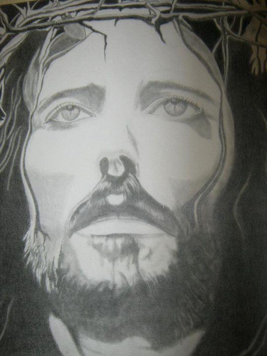 jesus on the cross - lasting impressions artwork