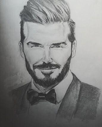 David Beckham - My sketches