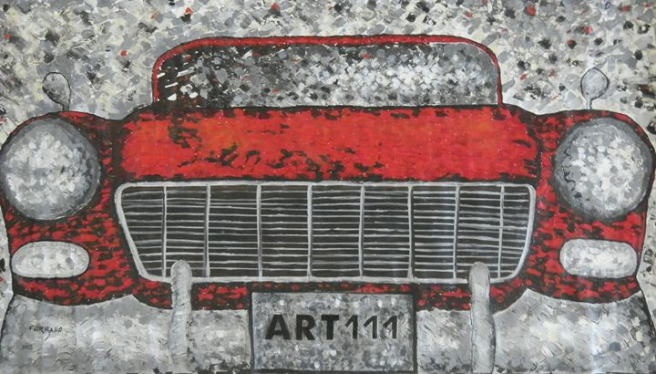 50's car - Ferraro Art