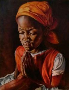 The Praying Girl