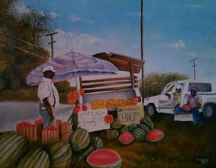 The Fruit Stand - ANOINTEDHANDS