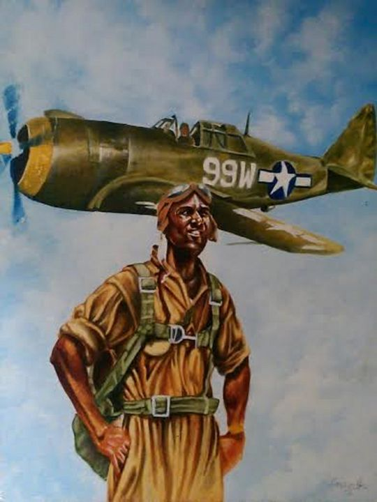 Tuskegee Airmen Patriot - ANOINTEDHANDS
