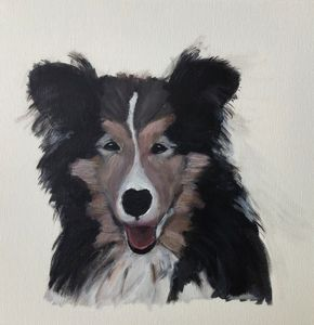 Sheltie love - SuArt