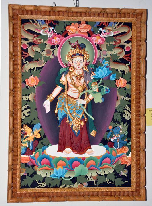 Padmapani Lokeshwor(Plywood Emboss) - Creative Artists of Nepal