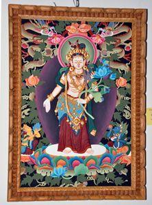 Padmapani Lokeshwor(Plywood Emboss)