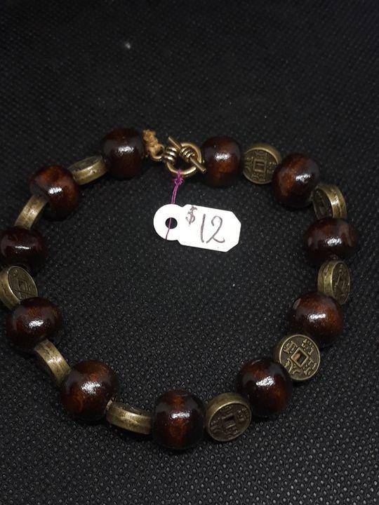 Dark wood bracelet - Jennifer Lopez