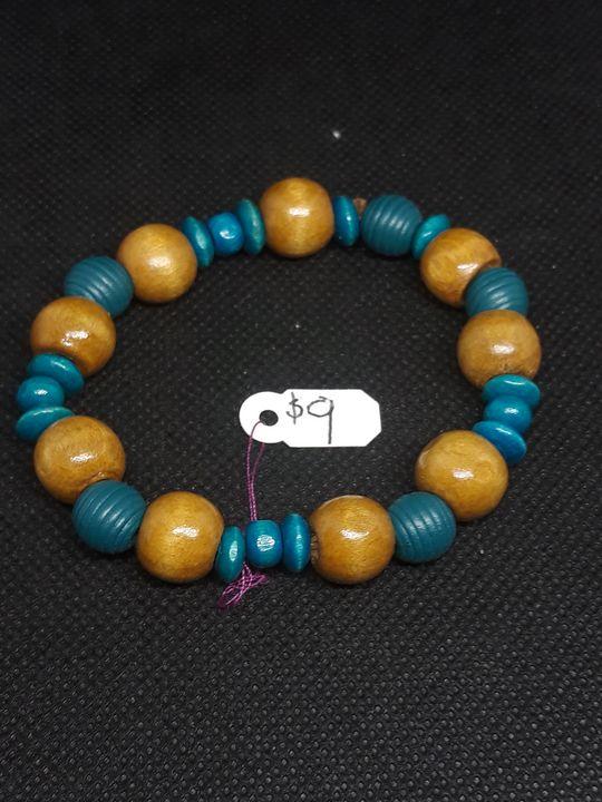 Light wood bracelet - Jennifer Lopez