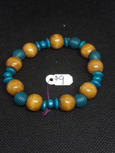 Light wood bracelet